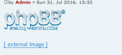 phpBB.de - External images as link