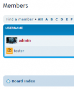 Avatars on Memberlist