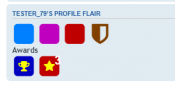 Profile Flair (Badges/Icons)