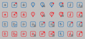 Light Style Forum & Topic Icons - Prosilver Based