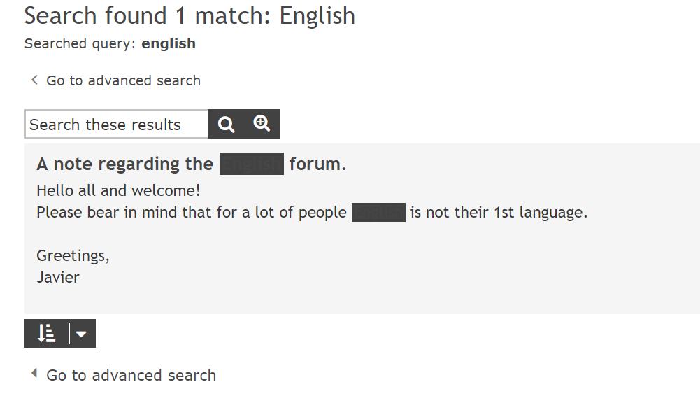 Match highlight forum