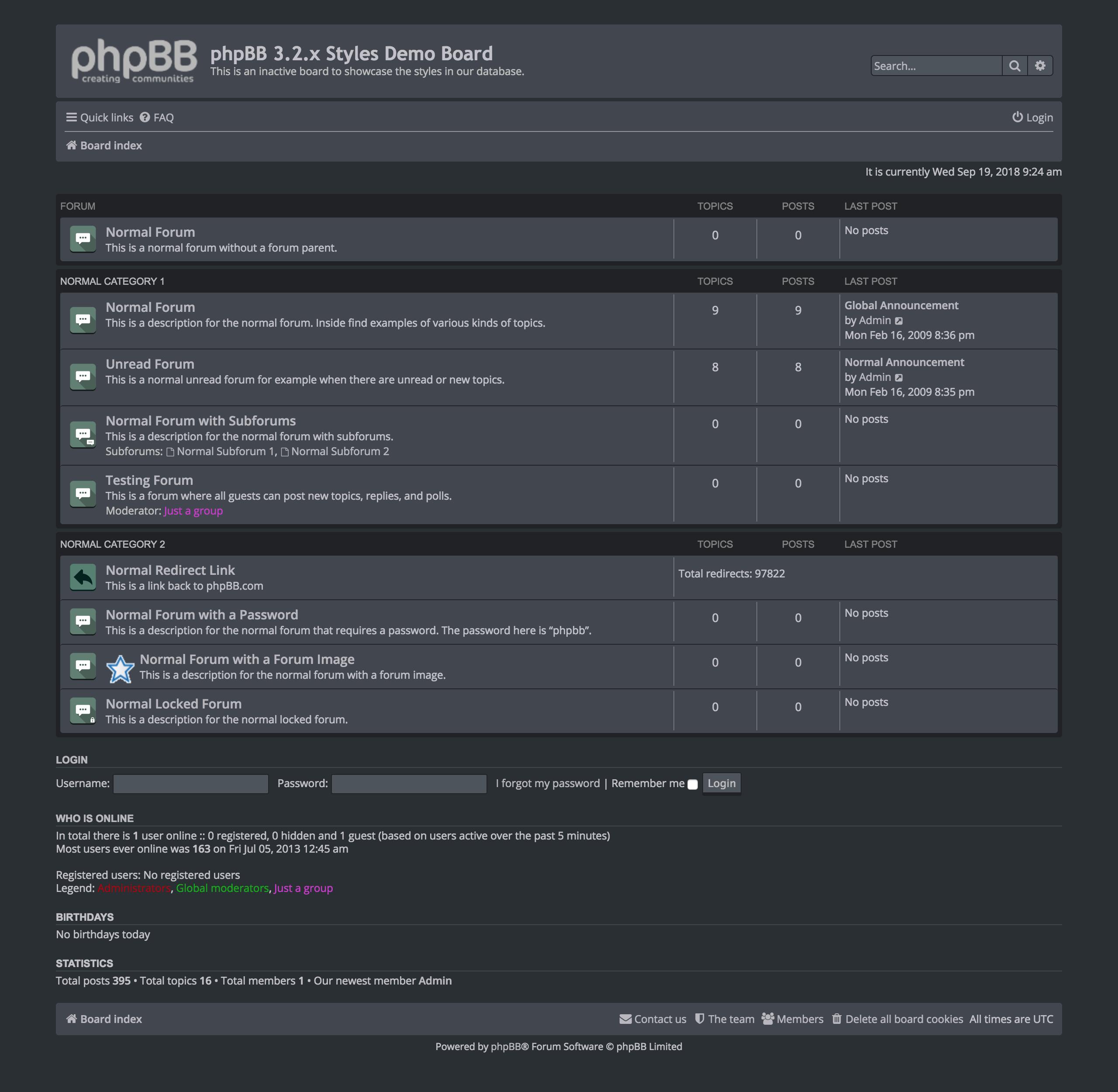 Validating forms using phpbb