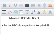 Advanced BBCode Box