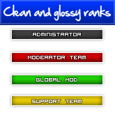 Clean & Glossy Ranks