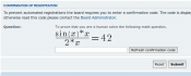 Crazy Maths CAPTCHA Plugin