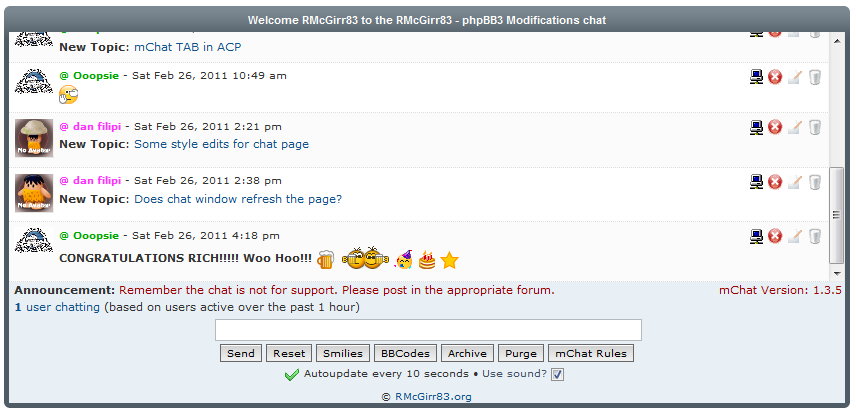 phpbb phpbb mchat contribution details