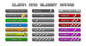 Clean Glossy Ranks (PSD's Included)