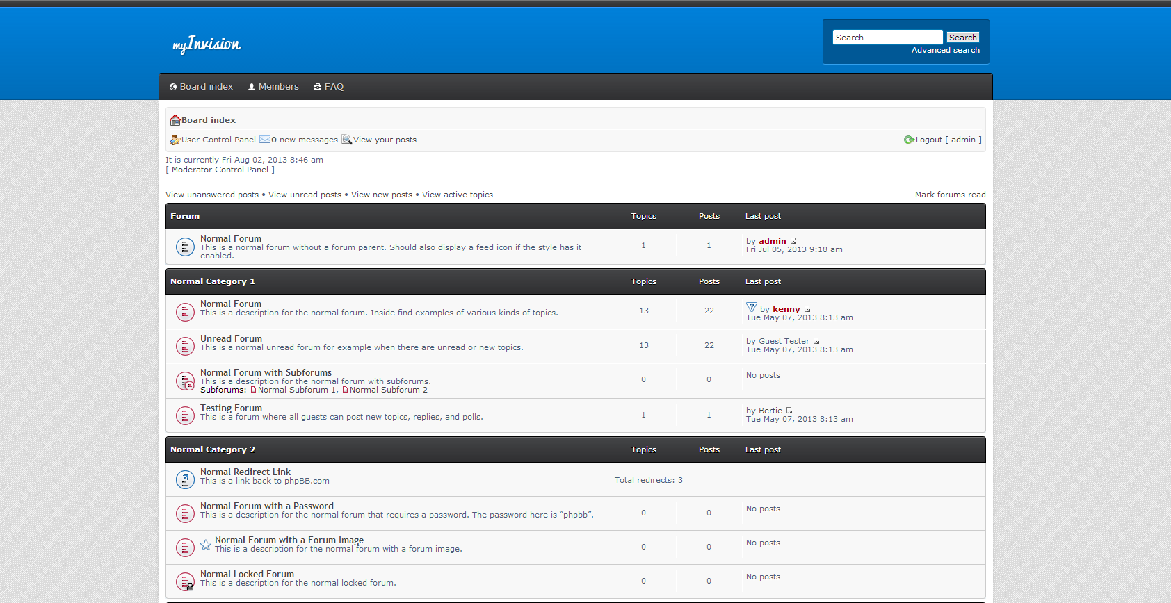phpBB • MyInvision - Contribution Details